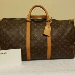 LV keepall 50 authentic